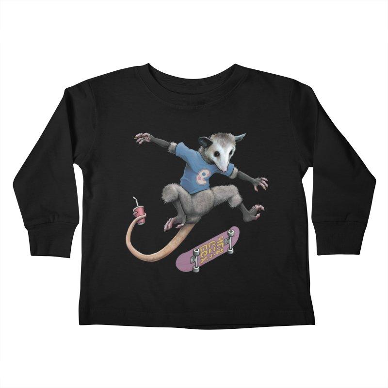 Awesome Possum Kids Toddler Longsleeve T-Shirt by joshbillings's Artist Shop
