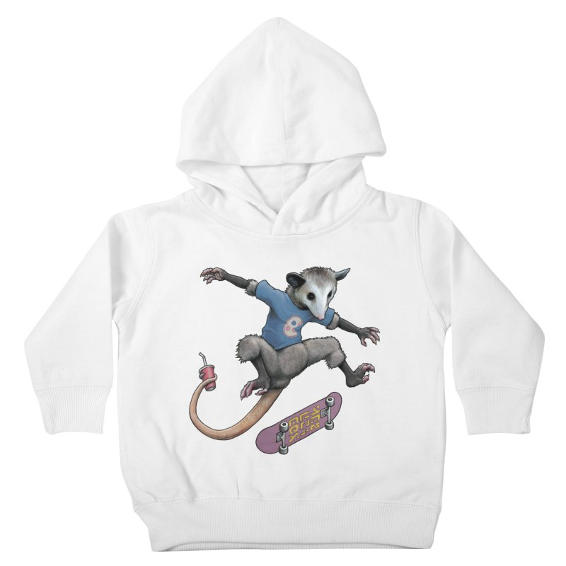 Awesome Possum Kids Toddler Pullover Hoody by joshbillings's Artist Shop