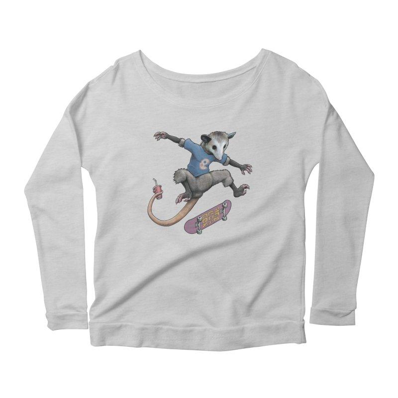 Awesome Possum Women's Longsleeve T-Shirt by joshbillings's Artist Shop