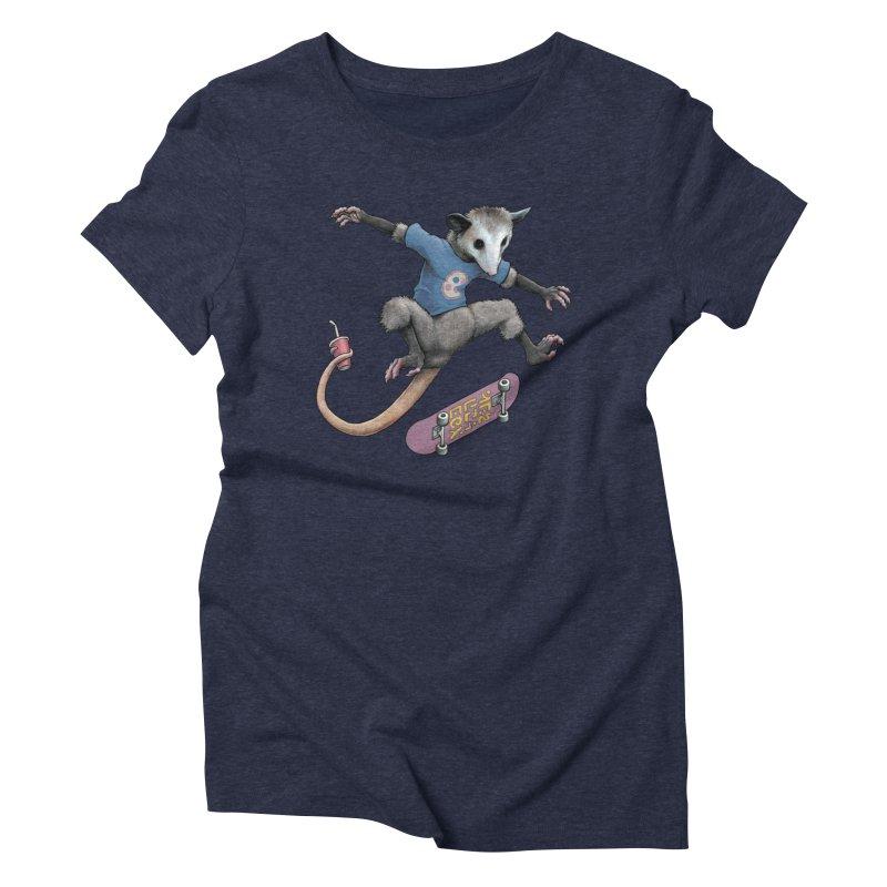 Awesome Possum Women's Triblend T-Shirt by joshbillings's Artist Shop