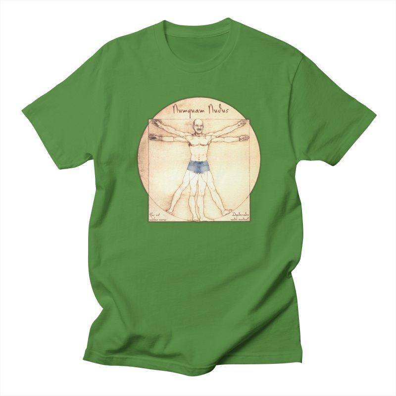 Never Nude Men's Regular T-Shirt by Breath of Life Development Merch Shop
