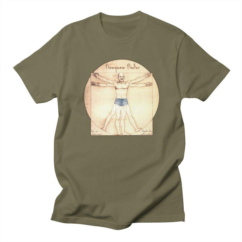 Never Nude Men's T-shirt by joshforeman's Artist Shop