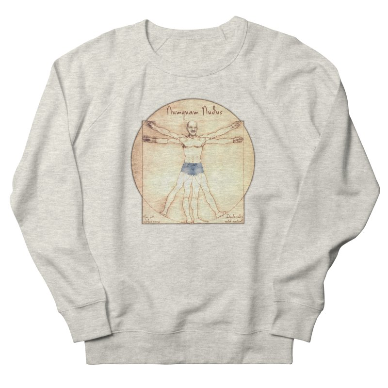 Never Nude Women's Sweatshirt by Breath of Life Art Studio Shop