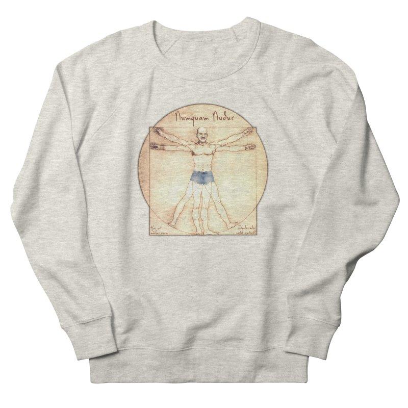 Never Nude Men's Sweatshirt by Breath of Life Art Studio Shop