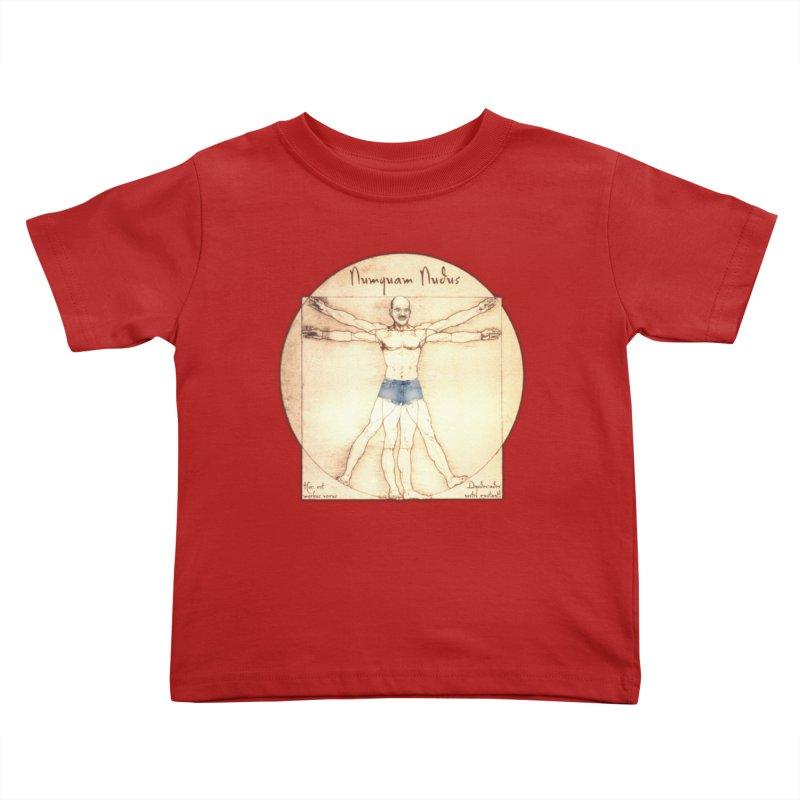 Never Nude Kids Toddler T-Shirt by joshforeman's Artist Shop