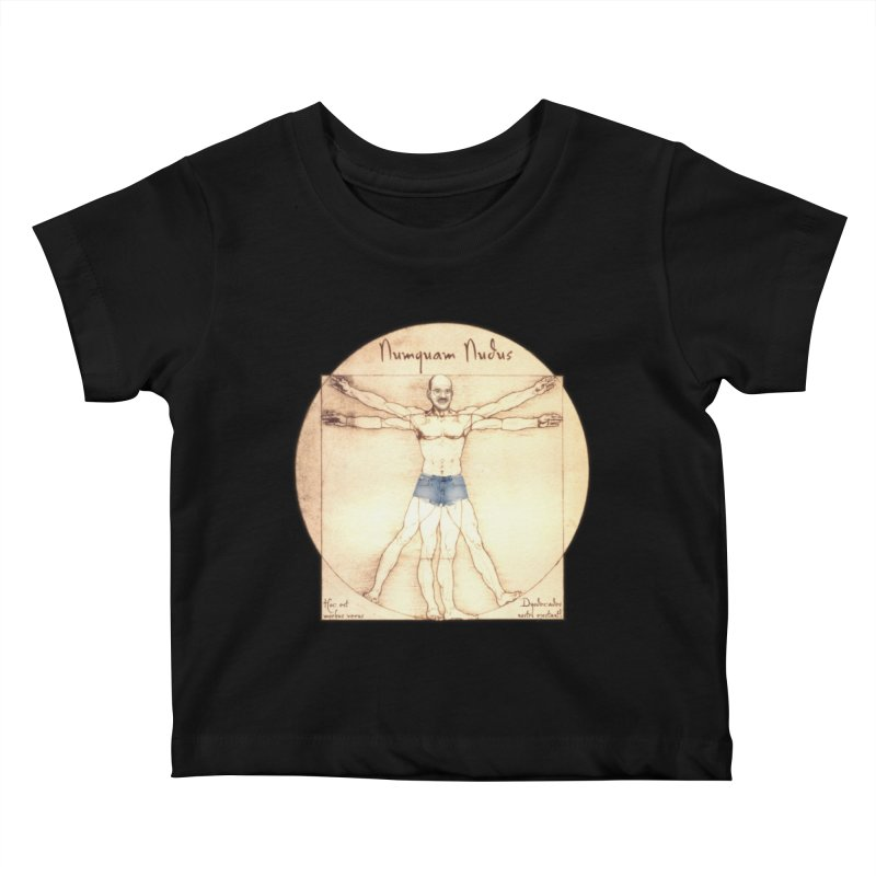 Never Nude Kids Baby T-Shirt by Breath of Life Art Studio Shop