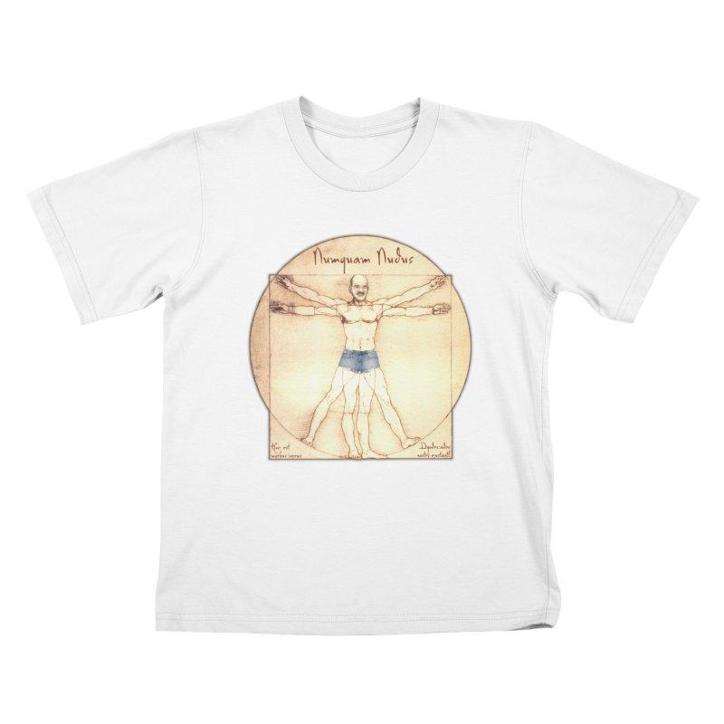 Never Nude Kids T-shirt by joshforeman's Artist Shop