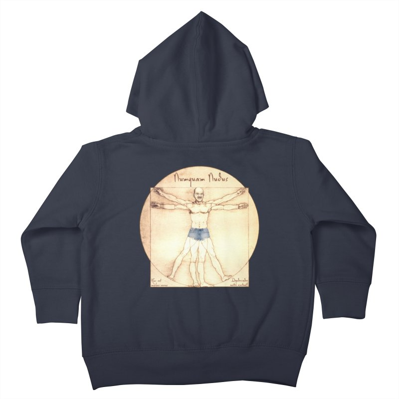 Never Nude Kids Toddler Zip-Up Hoody by Breath of Life Development Merch Shop