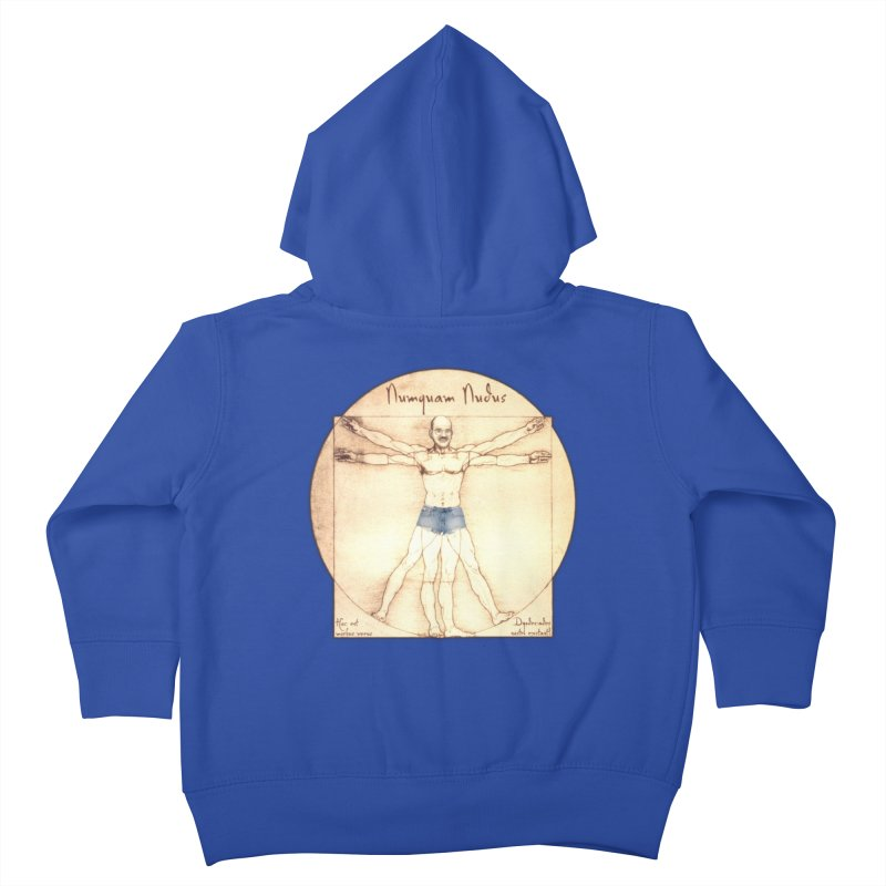 Never Nude Kids Toddler Zip-Up Hoody by Breath of Life Art Studio Shop