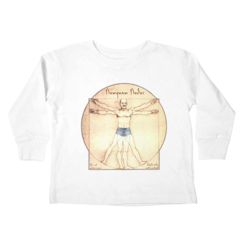 Never Nude Kids Toddler Longsleeve T-Shirt by joshforeman's Artist Shop