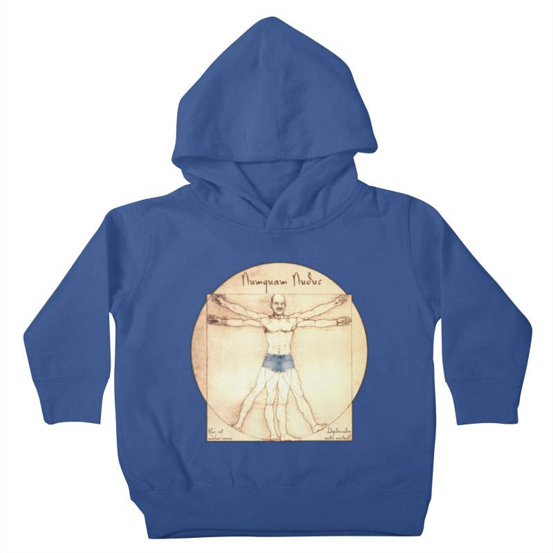 Never Nude Kids Toddler Pullover Hoody by Breath of Life Art Studio Shop