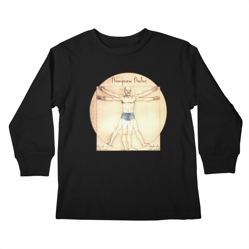 Never Nude Kids Longsleeve T-Shirt by Breath of Life Art Studio Shop