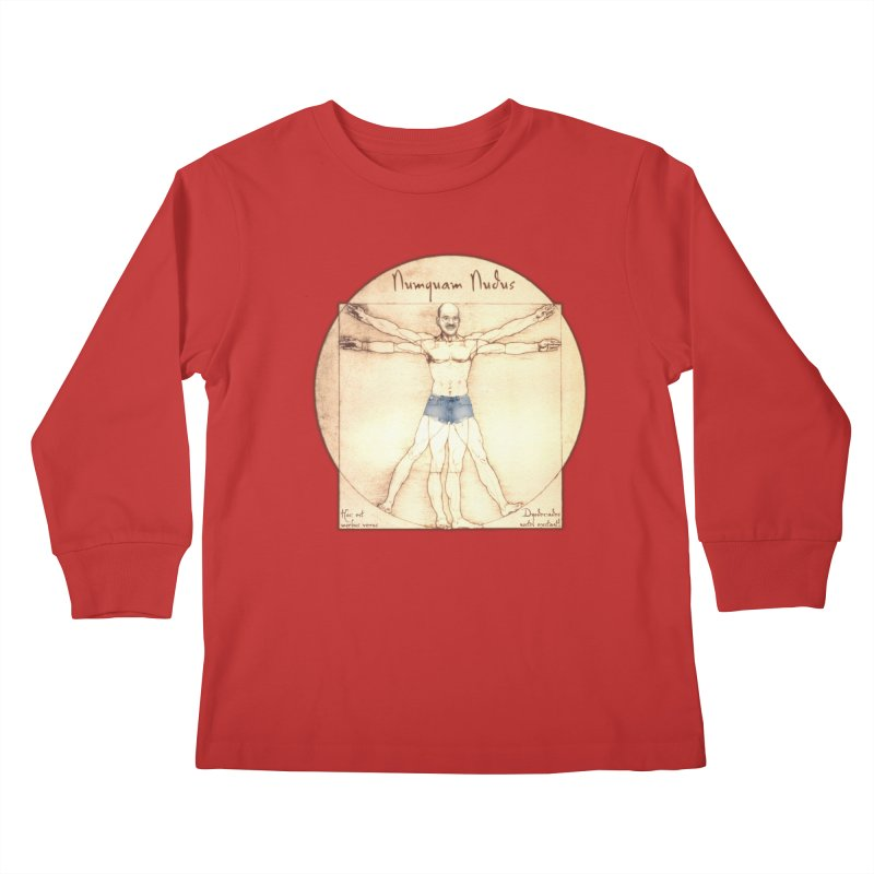 Never Nude Kids Longsleeve T-Shirt by Breath of Life Art Studio Shop