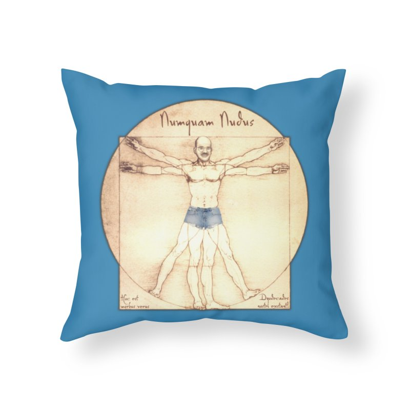 Never Nude Home Throw Pillow by Breath of Life Art Studio Shop
