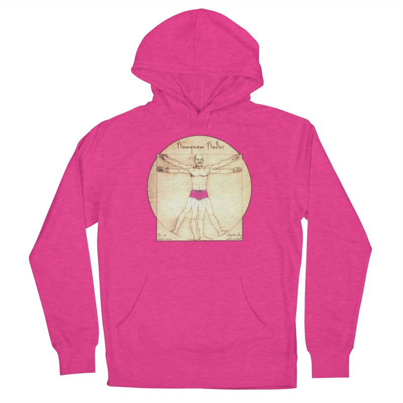 Never Nude (Matching Shorts) Women's Pullover Hoody by Breath of Life Art Studio Shop