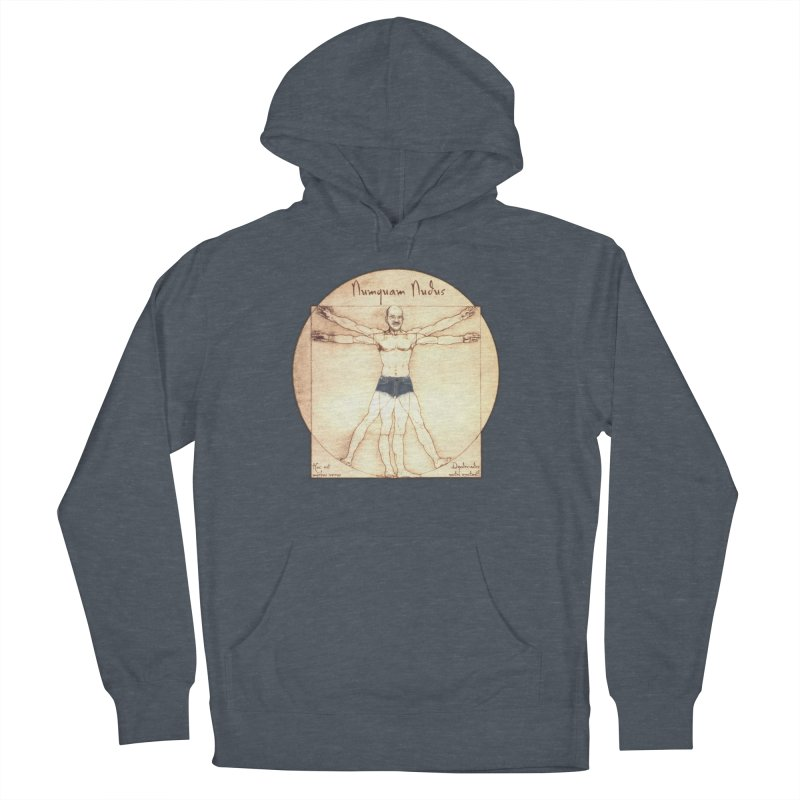 Never Nude (Matching Shorts) Men's Pullover Hoody by joshforeman's Artist Shop