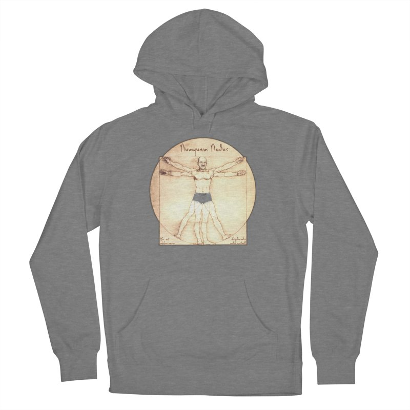 Never Nude (Matching Shorts) Men's French Terry Pullover Hoody by Breath of Life Development Merch Shop