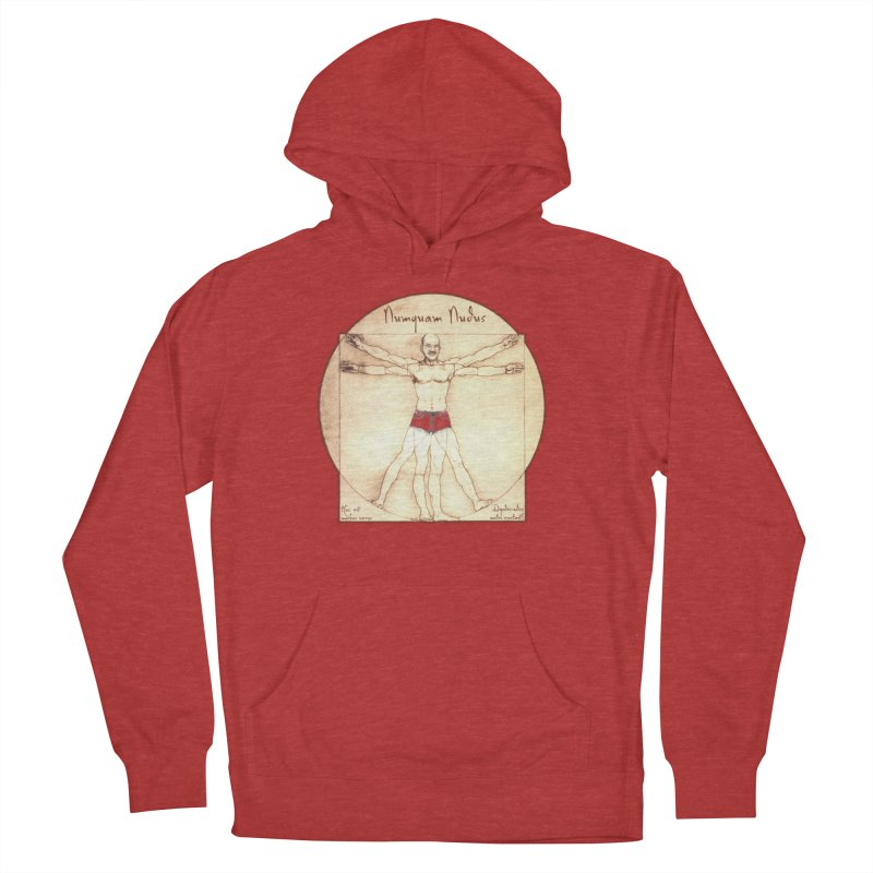 Never Nude (Matching Shorts) Men's Pullover Hoody by Breath of Life Art Studio Shop