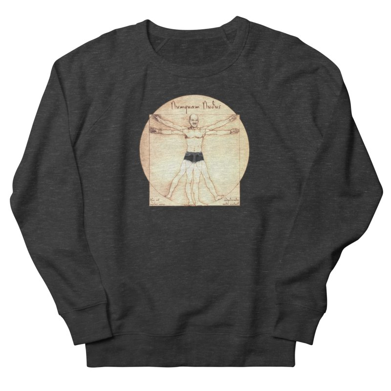 Never Nude (Matching Shorts) Women's Sweatshirt by joshforeman's Artist Shop
