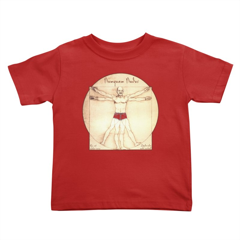 Never Nude (Matching Shorts) Kids Toddler T-Shirt by joshforeman's Artist Shop