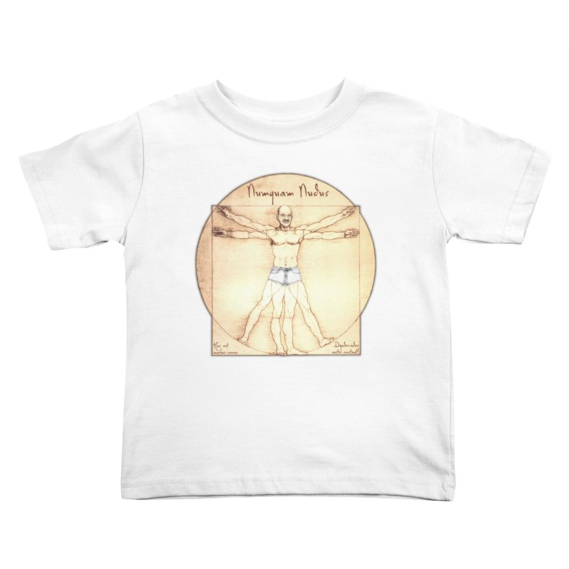 Never Nude (Matching Shorts) Kids Toddler T-Shirt by Breath of Life Art Studio Shop