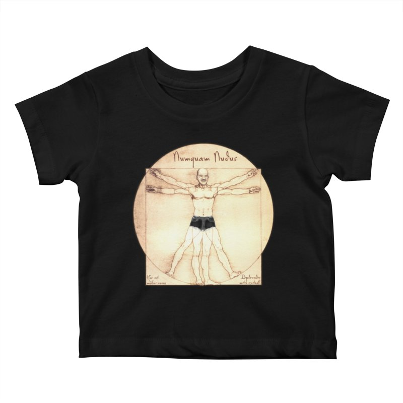 Never Nude (Matching Shorts) Kids Baby T-Shirt by Breath of Life Art Studio Shop
