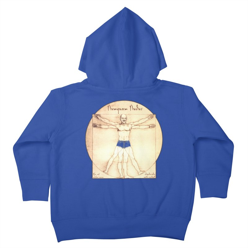 Never Nude (Matching Shorts) Kids Toddler Zip-Up Hoody by Breath of Life Development Merch Shop