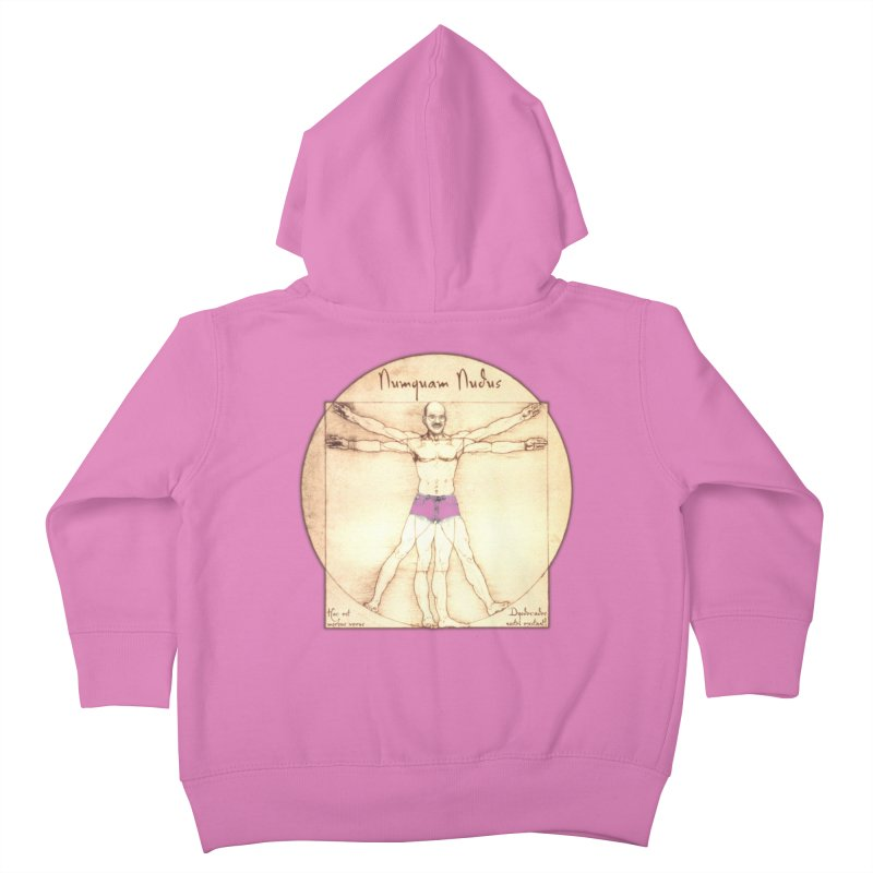 Never Nude (Matching Shorts) Kids Toddler Zip-Up Hoody by Breath of Life Art Studio Shop