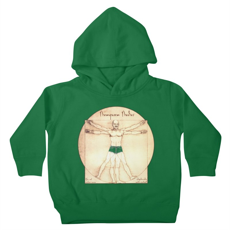Never Nude (Matching Shorts) Kids Toddler Pullover Hoody by Breath of Life Art Studio Shop