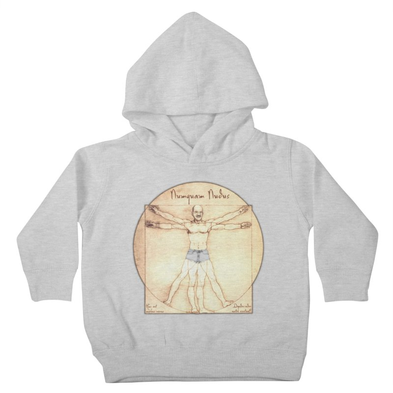 Never Nude (Matching Shorts) Kids Toddler Pullover Hoody by joshforeman's Artist Shop