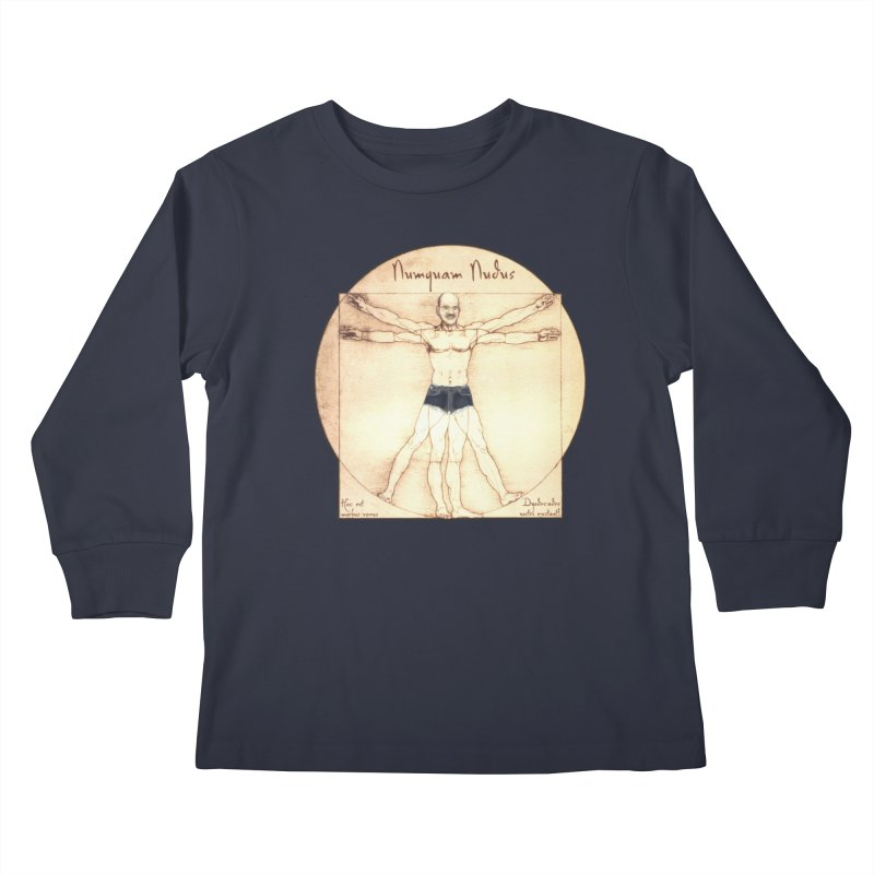 Never Nude (Matching Shorts) Kids Longsleeve T-Shirt by Breath of Life Art Studio Shop