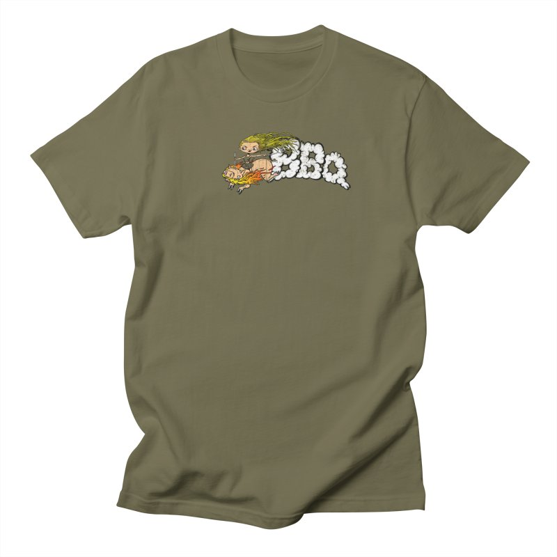 BBQ Men's T-shirt by Breath of Life Art Studio Shop