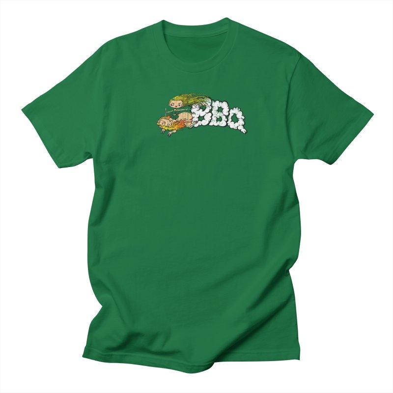 BBQ Men's T-Shirt by Breath of Life Art Studio Shop