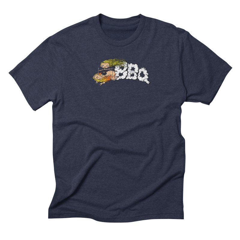 BBQ Men's Triblend T-Shirt by Breath of Life Art Studio Shop