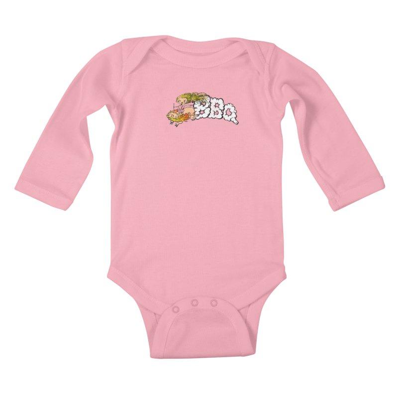 BBQ Kids Baby Longsleeve Bodysuit by joshforeman's Artist Shop