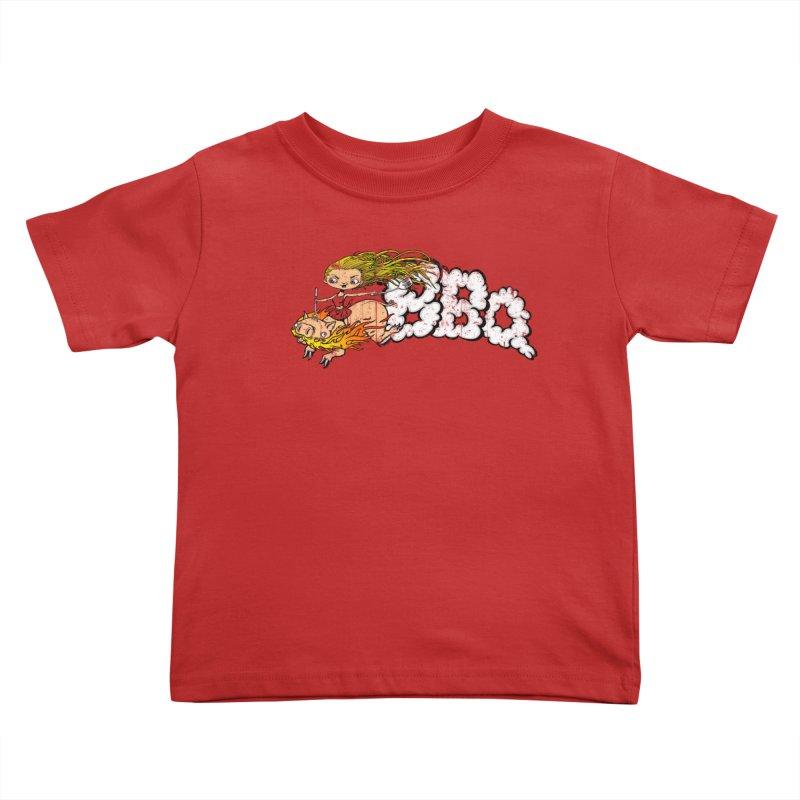 BBQ Kids Toddler T-Shirt by Breath of Life Art Studio Shop