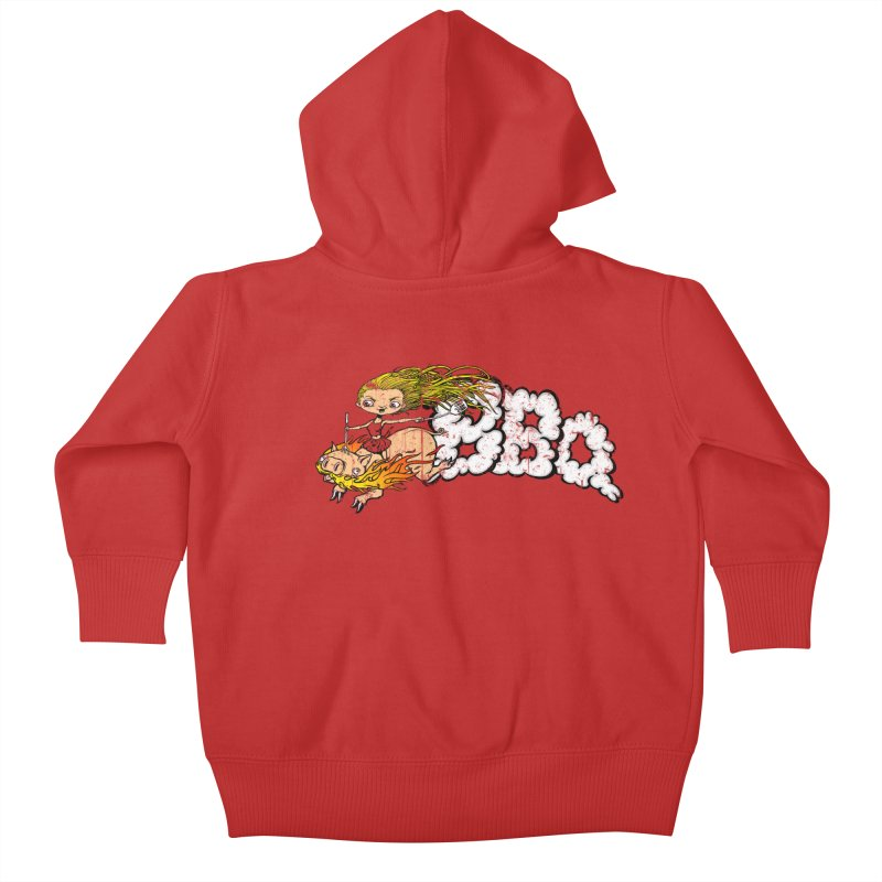 BBQ Kids Baby Zip-Up Hoody by Breath of Life Art Studio Shop