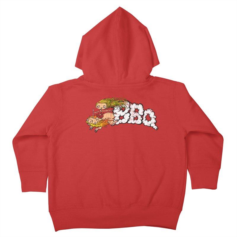 BBQ Kids Toddler Zip-Up Hoody by Breath of Life Art Studio Shop