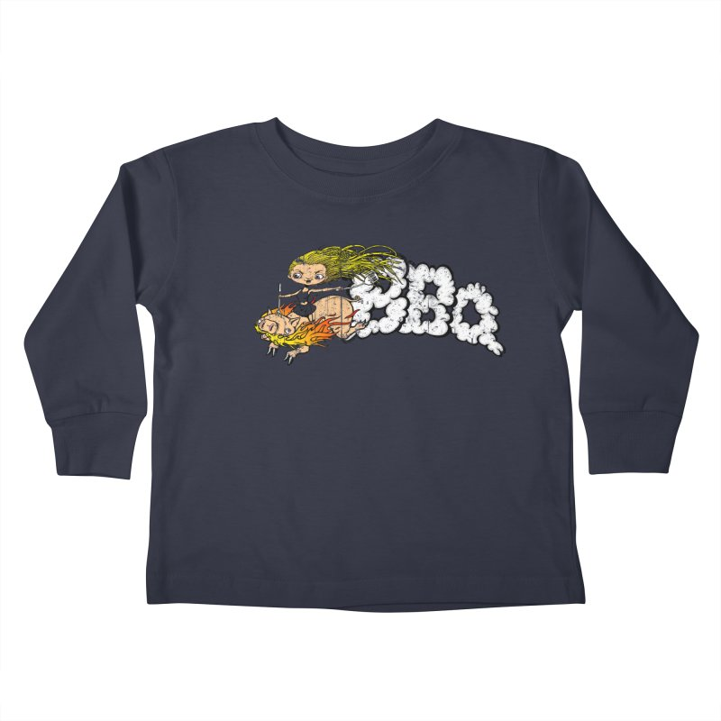 BBQ Kids Toddler Longsleeve T-Shirt by joshforeman's Artist Shop