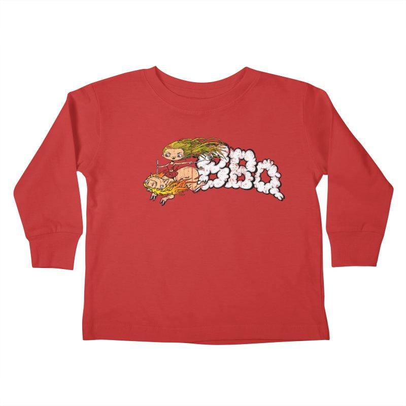 BBQ Kids Toddler Longsleeve T-Shirt by Breath of Life Art Studio Shop