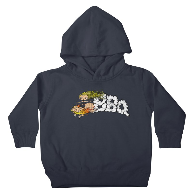 BBQ Kids Toddler Pullover Hoody by Breath of Life Art Studio Shop