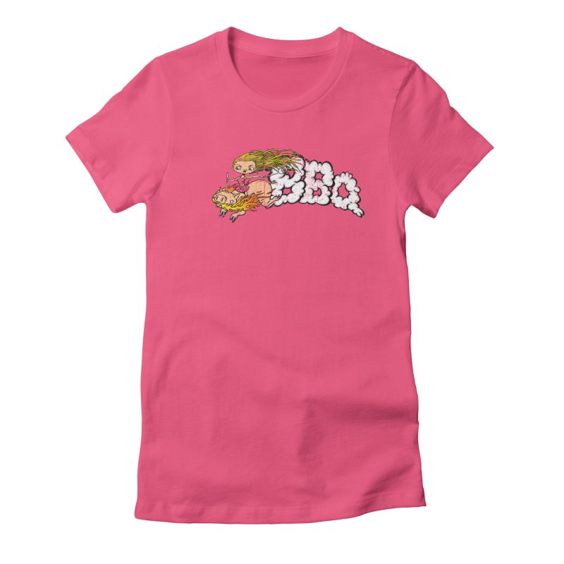 BBQ Women's Fitted T-Shirt by joshforeman's Artist Shop