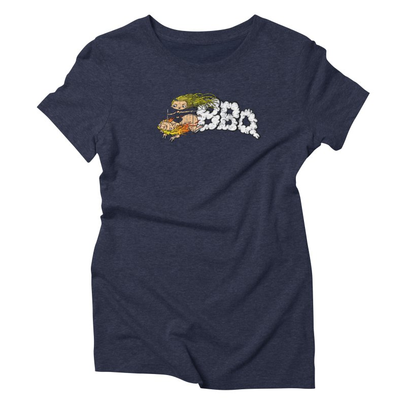 BBQ Women's Triblend T-shirt by joshforeman's Artist Shop