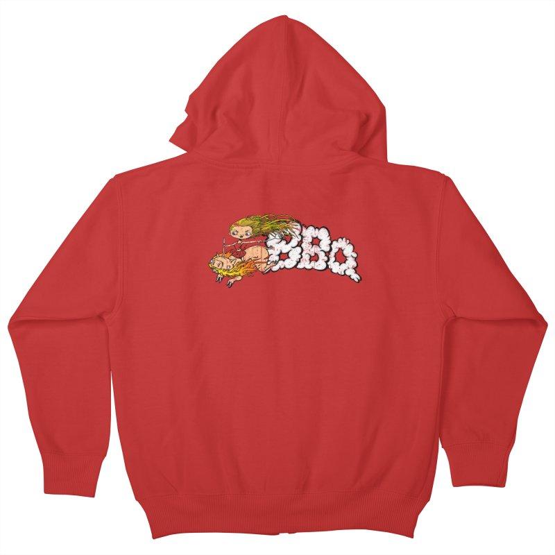 BBQ Kids Zip-Up Hoody by Breath of Life Art Studio Shop