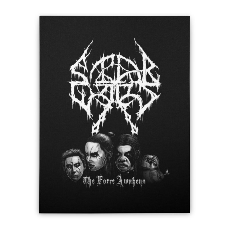 The Kvlt Awakens Home Stretched Canvas by Breath of Life Development Merch Shop
