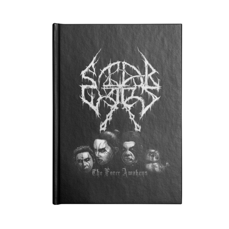 The Kvlt Awakens Accessories Lined Journal Notebook by Breath of Life Development Merch Shop