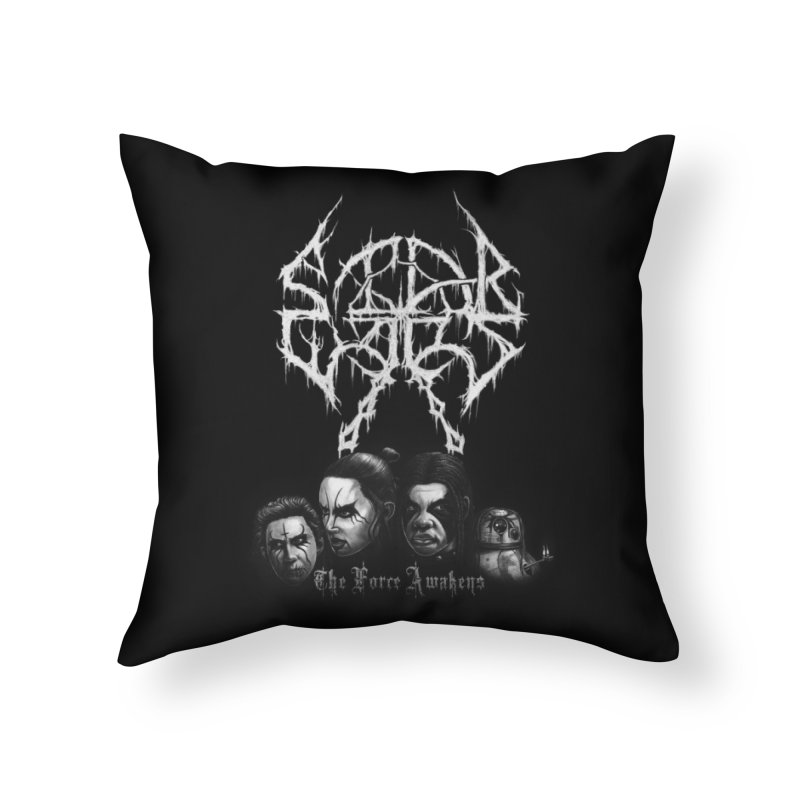 The Kvlt Awakens Home Throw Pillow by Breath of Life Art Studio Shop