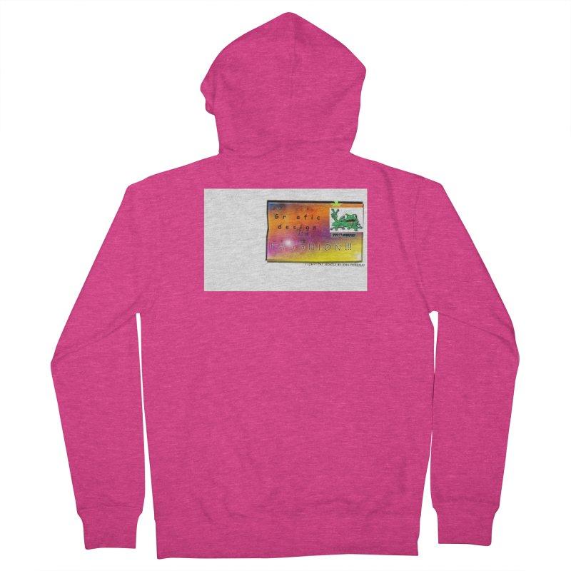 Gra fic design Passhion!!! Women's Zip-Up Hoody by Breath of Life Art Studio Shop