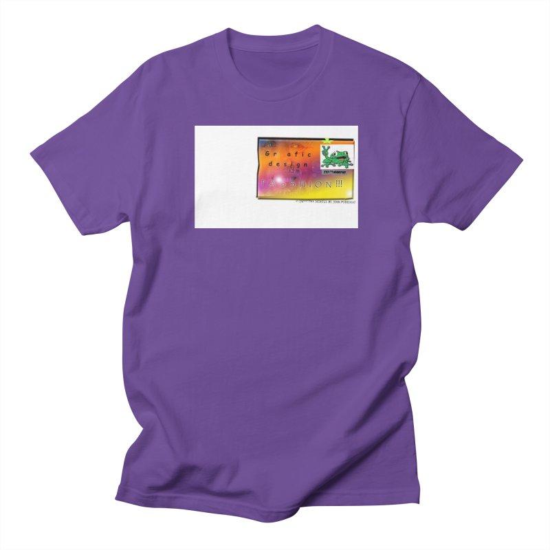 Gra fic design Passhion!!! Men's Regular T-Shirt by Breath of Life Development Merch Shop