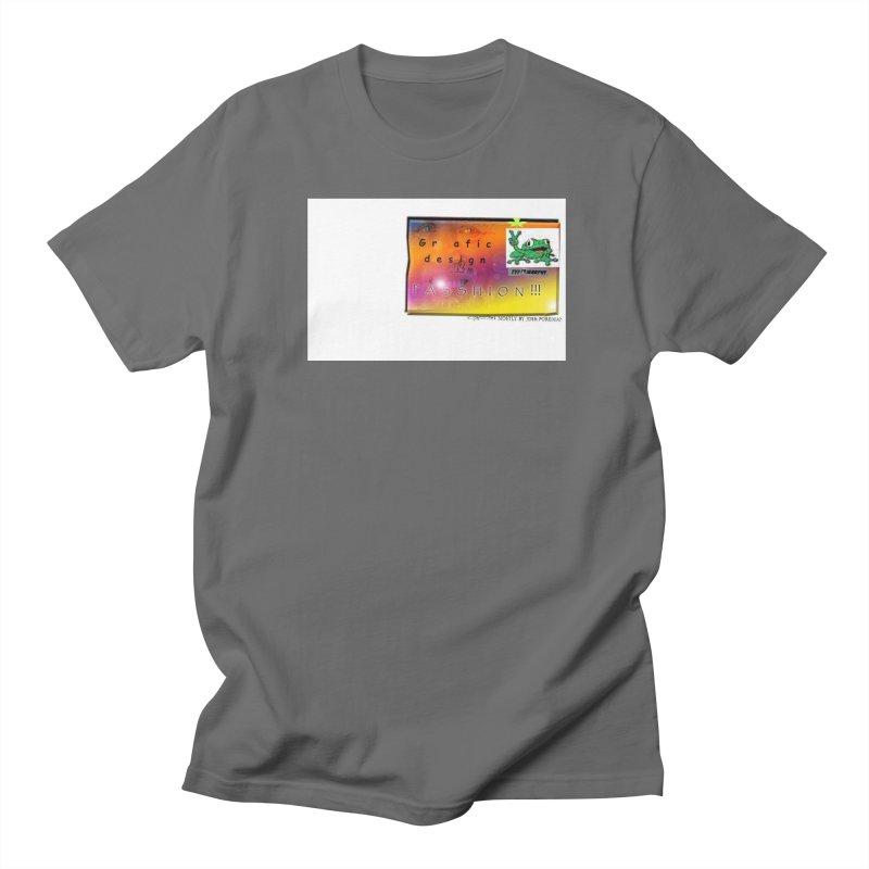 Gra fic design Passhion!!! Men's T-Shirt by Breath of Life Art Studio Shop